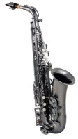 Professional Satin Black Nickel Alto Saxophone Model AS-641SBB (AS-641SBB)