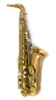 Professional Unlacquered Red Brass Alto Model AS85-641UP (AS85-641UP)